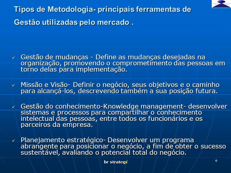 br strateg i 7 Tipos de Metodologia- principais ferramentas de Gestão utilizadas pelo mercado.