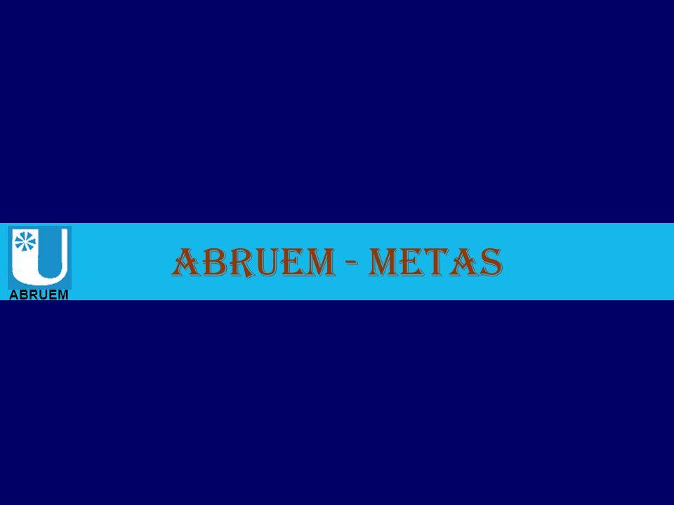 ABRUEM - Metas.