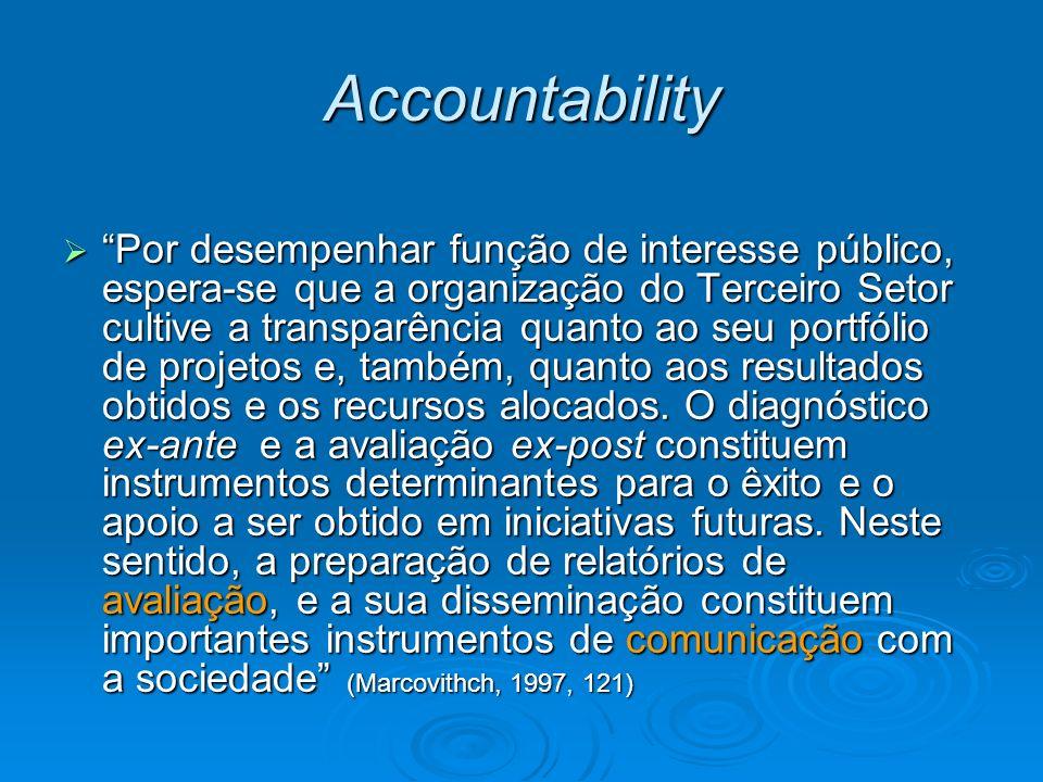 Principais fontes de recursos Contribuições: transferência incondicional de dinheiro ou de outro ativo, ou o concelamento de obrigações numa transferência voluntária não recíproca por alguém que não seja o proprietário (AICPA) Contribuições: transferência incondicional de dinheiro ou de outro ativo, ou o concelamento de obrigações numa transferência voluntária não recíproca por alguém que não seja o proprietário (AICPA) Doações: Contrato em que uma pessoa, por liberdade, transfere do seu patrimônio bens ou vantagens para o de outra (Cod.Civil Brasileiro) Doações: Contrato em que uma pessoa, por liberdade, transfere do seu patrimônio bens ou vantagens para o de outra (Cod.Civil Brasileiro) Restrição temporária: Restrição imposta pelo doador que permite à organização donatária (recebedora) gastar ou consumir os ativos doados quando especificados e que é cumprida pelo tempo decorrido ou por ações da organização Restrição temporária: Restrição imposta pelo doador que permite à organização donatária (recebedora) gastar ou consumir os ativos doados quando especificados e que é cumprida pelo tempo decorrido ou por ações da organização Restrição permanente: Imposta pelo doador que estipula que o srecursos sejam mantidospermanentemente, mas permite à organização gastar ou consumir parte ou todo rendimento (ou outros benefícios econômicos) derivados de ativos doados Restrição permanente: Imposta pelo doador que estipula que o srecursos sejam mantidospermanentemente, mas permite à organização gastar ou consumir parte ou todo rendimento (ou outros benefícios econômicos) derivados de ativos doados
