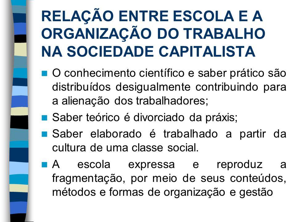 HÁ ESPAÇOS PARA PROCESSOS EMANCIPATÓRIOS.