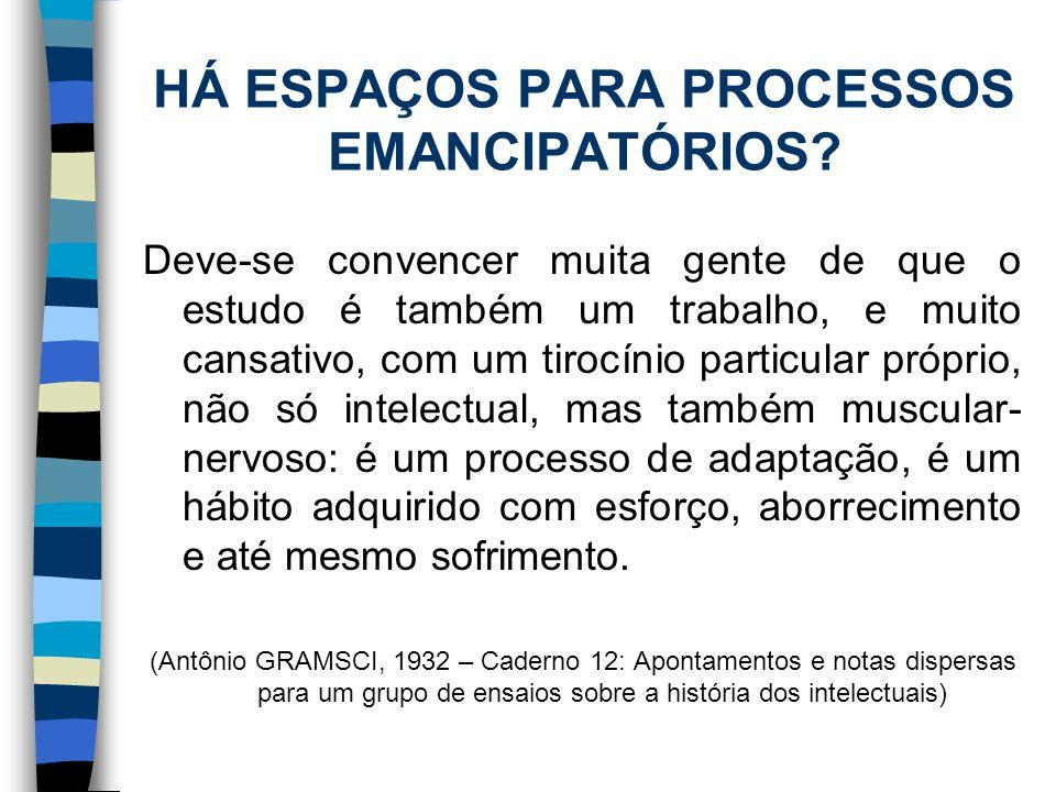 ORGANIZAÇÃO DA GESTÃO: CONFRONTO DE PARADIGMAS.