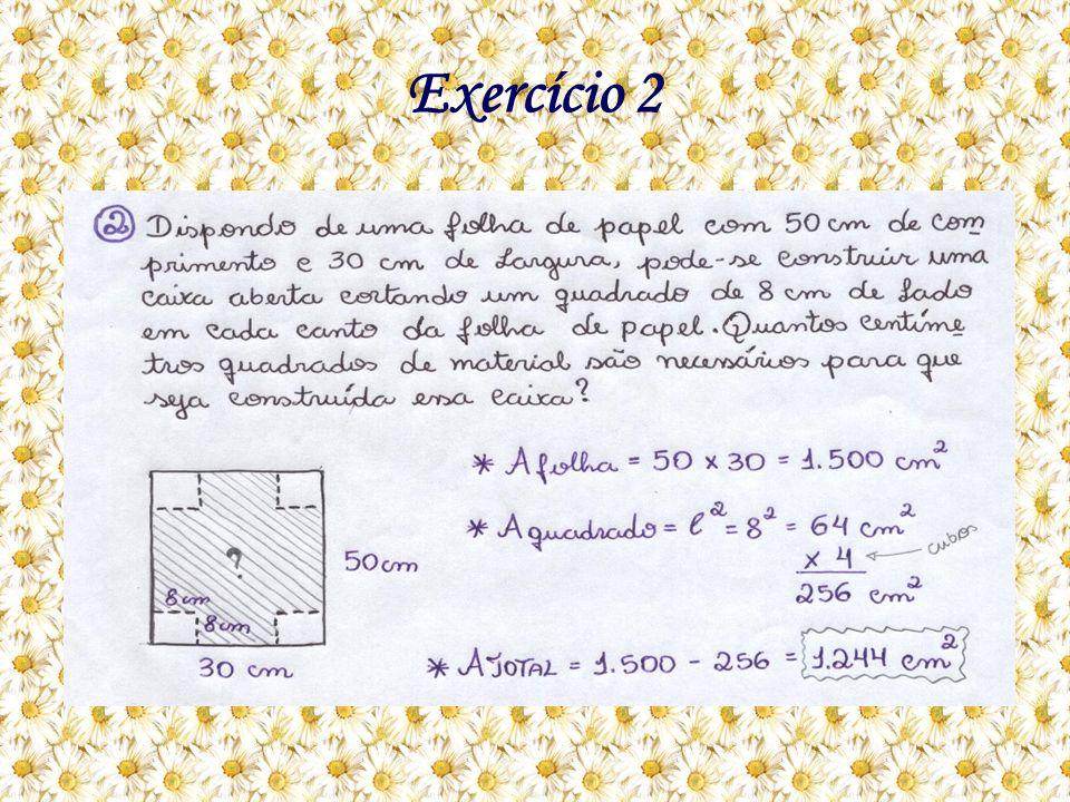 Como eu resolvo: A questão pede a quantidade necessária em cm² de folha de papel, para construir uma caixa.