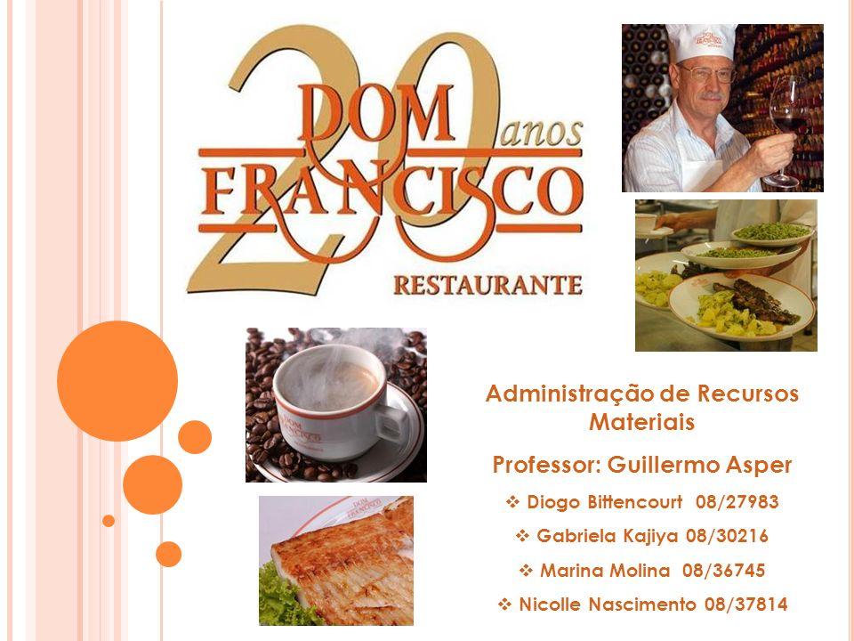 HISTÓRIA A Casa Dom Francisco foi fundada por Francisco Ansiliero e família; A rede está presente em Brasília há quase 21 anos e possui 5 lojas; A primeira delas se localiza na 402 Sul e a matriz no Clube ASBAC.