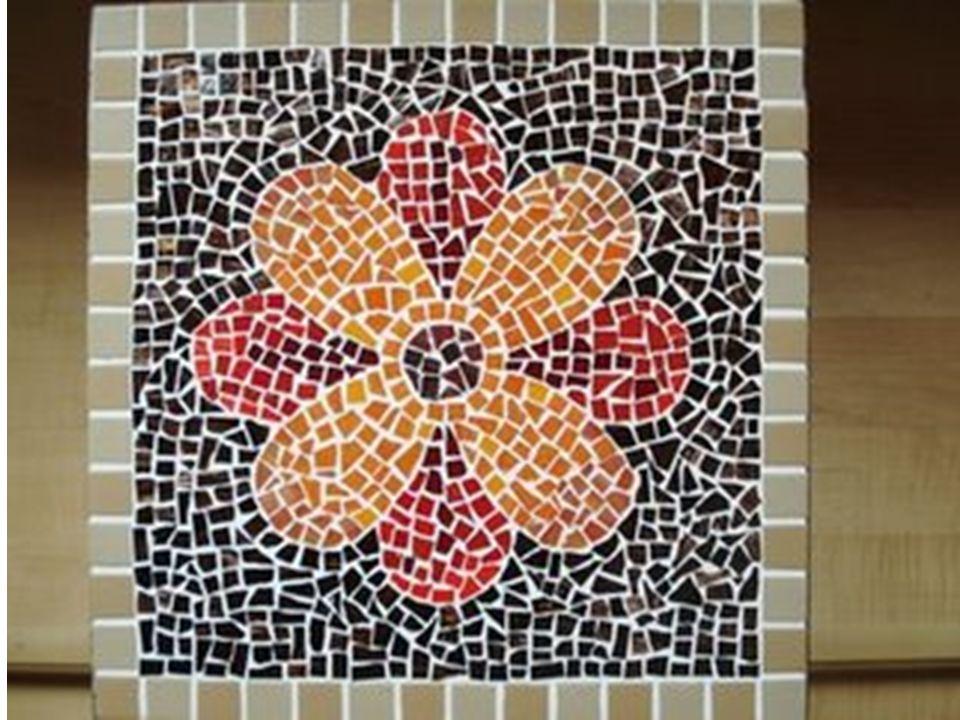 E você já pensou em fazer um mosaico .Vamos tentar fazer um .