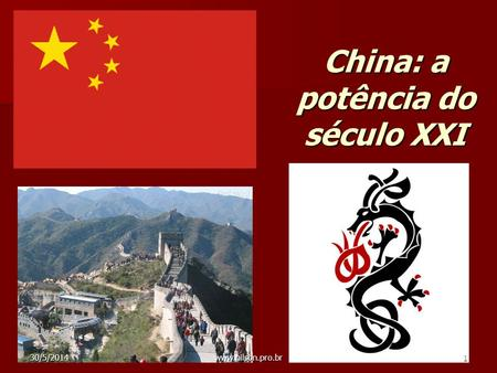 China: a potência do século XXI