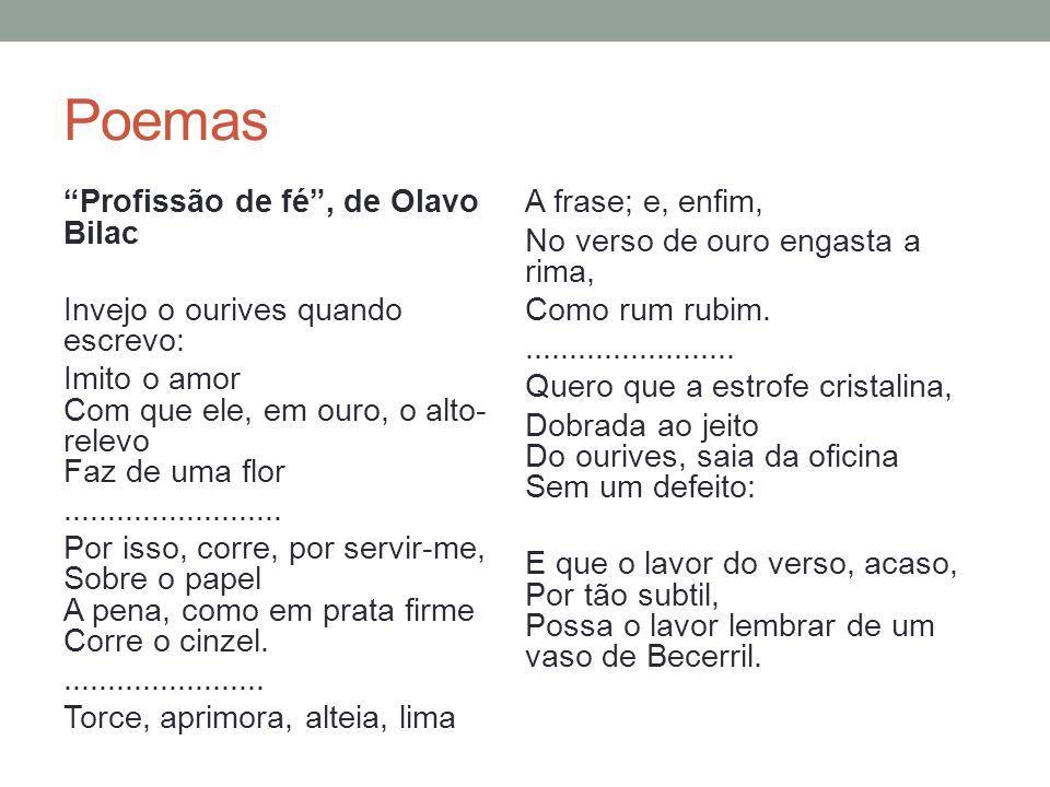 Poemas Musa impassível, Francisca Júlia Musa.