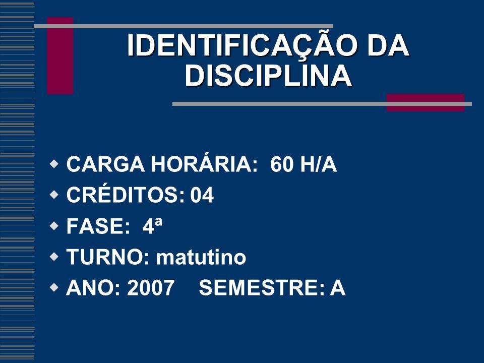 EMENTA DA DISCIPLINA Noções introdutórias; teoria da pena; penas do sistema brasileiro; medidas de Segurança; teoria da ação penal; extinção da punibilidade e jurisprudência