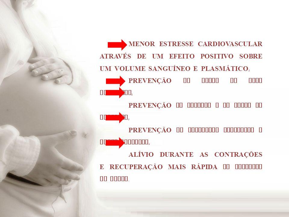 RISCOS TEMIDOS PELA MÃE : LES Õ ES MUSCULOESQUELÉTICAS ; COMPLICA ÇÕ ES CARDIOVASCULARES ; CONTRA ÇÕ ES PREMATURAS ; TAXA AUMENTADA DE ABORTOS ESPONTÂNEOS NO 1 º TRIMESTRE ; HIPOGLICEMIA AGUDA.