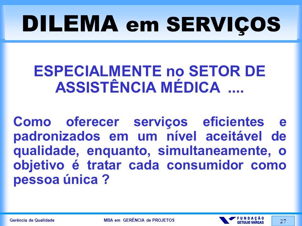 Gerência de Qualidade MBA em GERÊNCIA de PROJETOS 28 ESTRATÉGICO & TÁTICO EFICAZ & EFICIENTE (1) EFICIÊNCIA (associado a TÁTICA) Do things right (FAZER CERTO) EFICÁCIA (associado a ESTRATÉGIA) Do the right thing (FAZER A COISA CERTA)