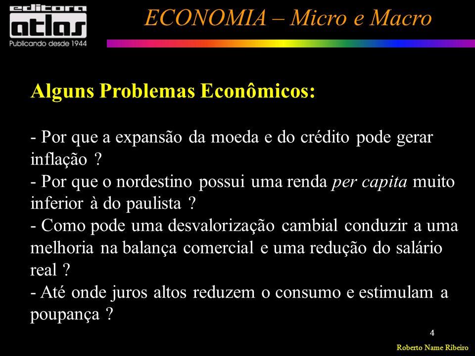 Roberto Name Ribeiro ECONOMIA – Micro e Macro 5 Cont...