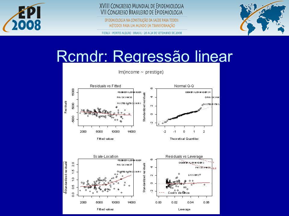 R aplicado a Epidemiologia Rcmdr: Salvar – resultados