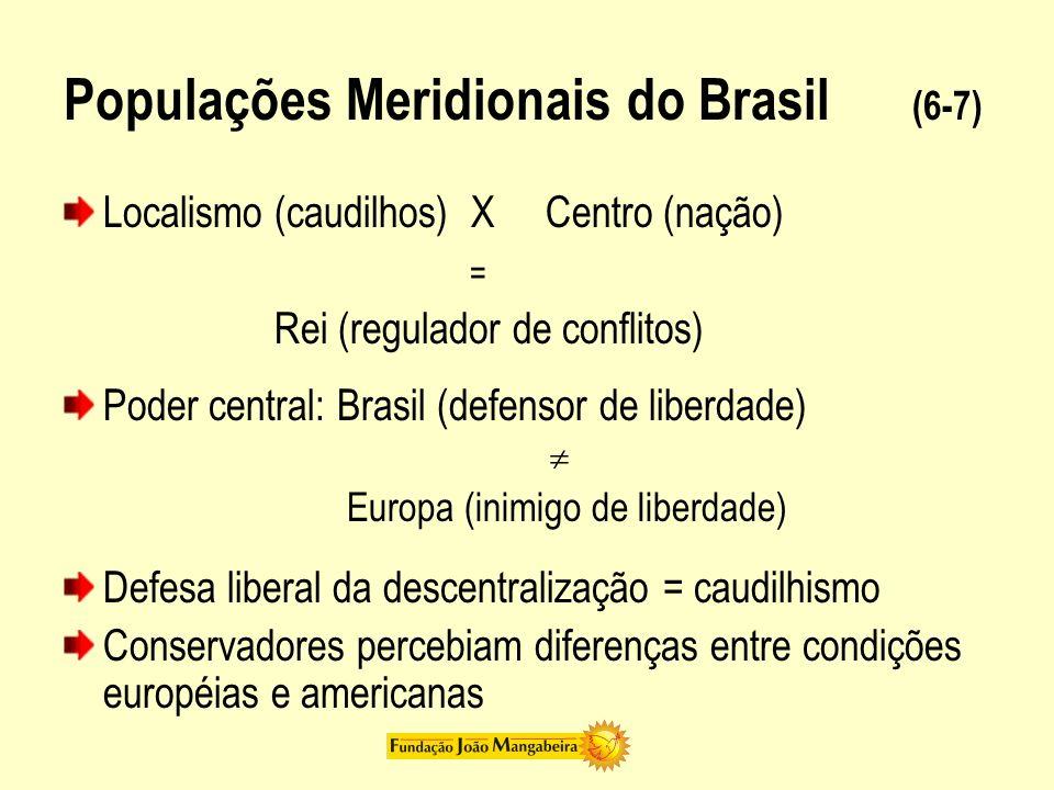 Populações Meridionais do Brasil (7-7) Argumento de Oliveira Vianna Meio brasileiro Unidade nacional Estado Unidade nacional