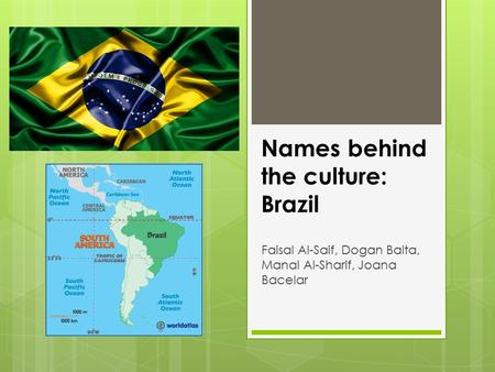 Names behind the culture: Brazil Faisal Al-Saif, Dogan Balta, Manal Al-Sharif, Joana Bacelar.