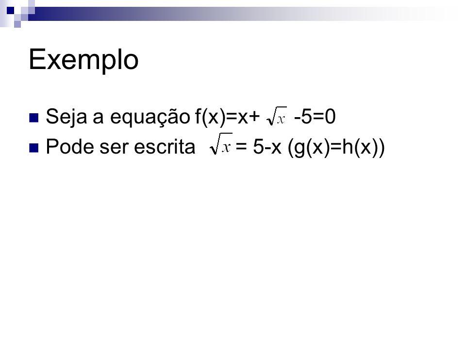 Metodo da Bisseção Seja f(x) uma função continua em um intervalo [a,b] O intervalo contém uma única raiz da equação f(x)=0 sendo assim, f(a).f(b)<0 Este método consiste em dividir de forma sucessiva o intervalo [a,b] ao meio, até que seja obtido (b-a) <= precisão estabelecida