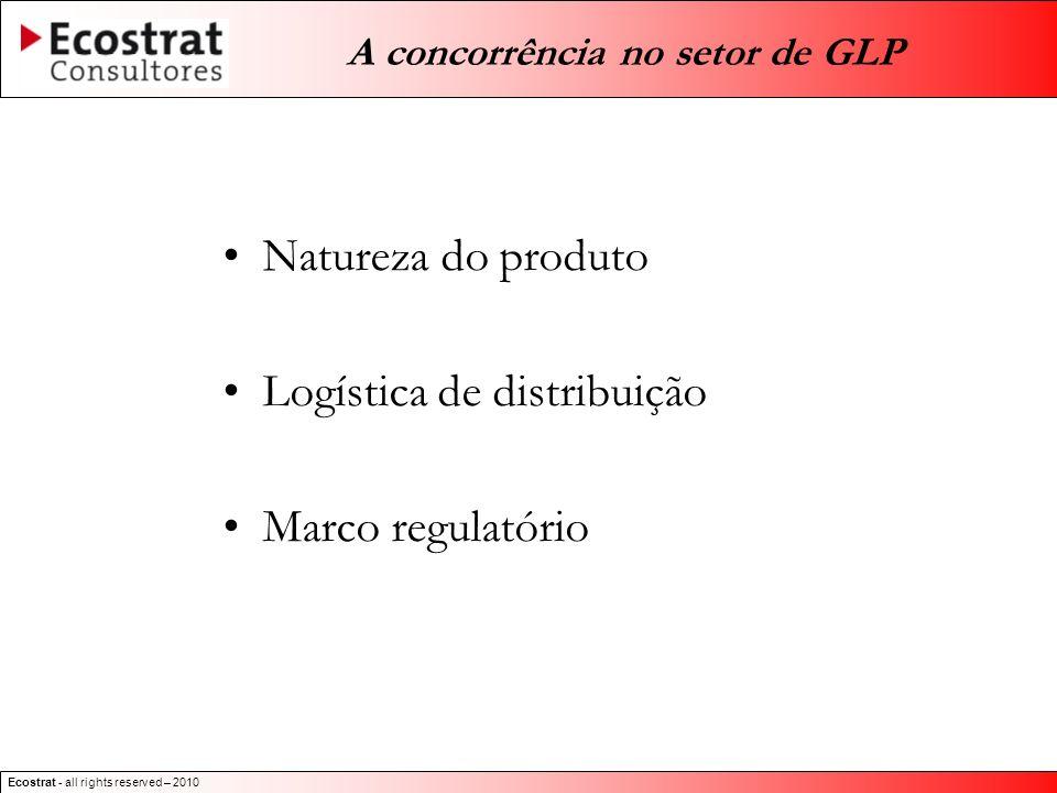 Ecostrat - all rights reserved – 2010 Unidades de Engarrafamento de GLP