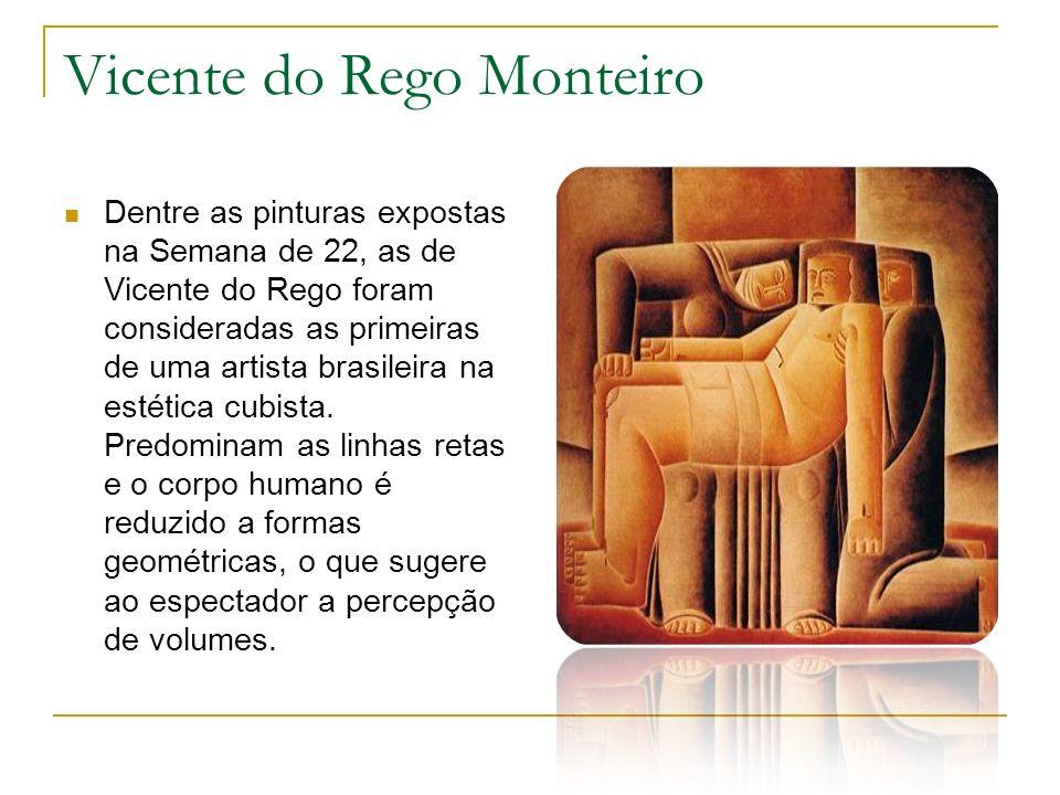 Vitor Brecheret Graças a ele, a escultura brasileira ganhou um aspecto mais moderno.