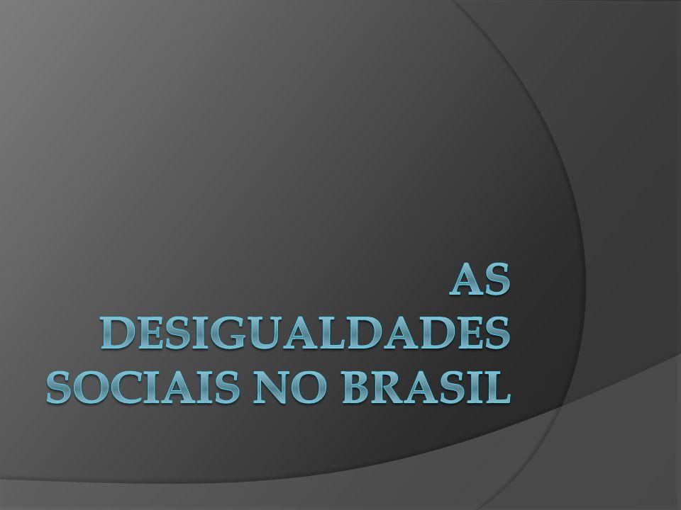 Questionamento: Se pudéssemos fazer uma divisão equalitária da riqueza no Brasil isto resolveria os problemas.