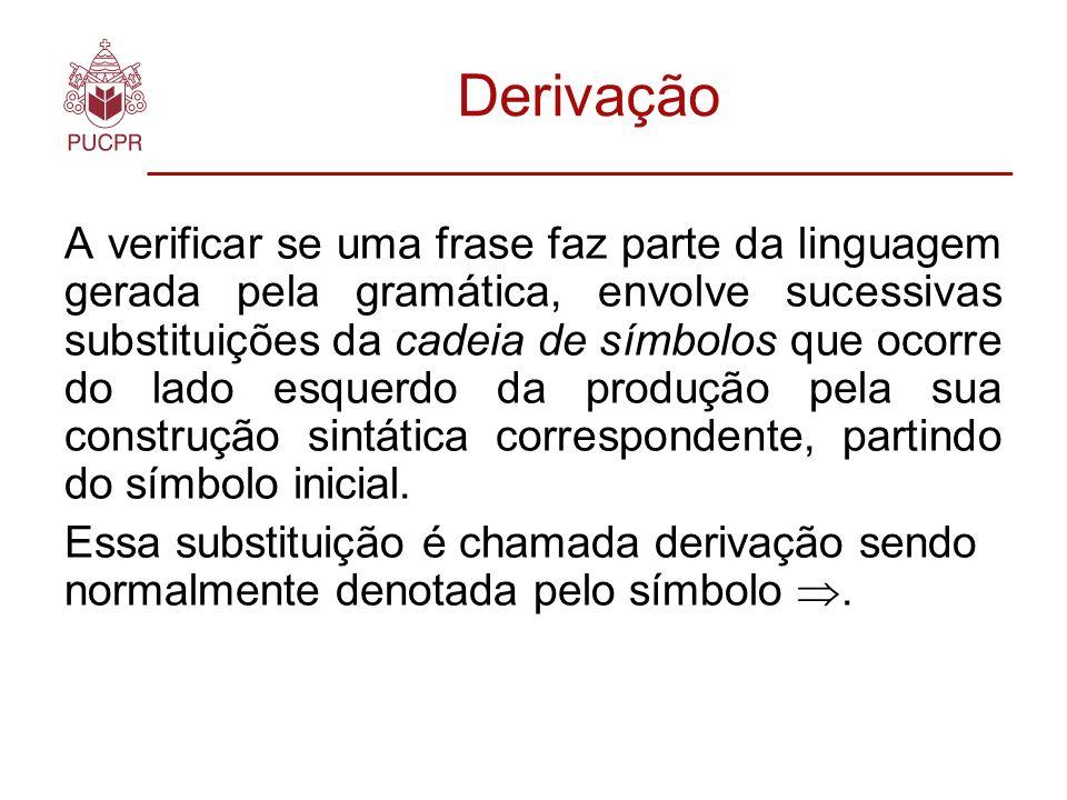 Derivação (10 - 2) + 3 + ( ) + ( - ) + (1 - ) + (10 - ) +...