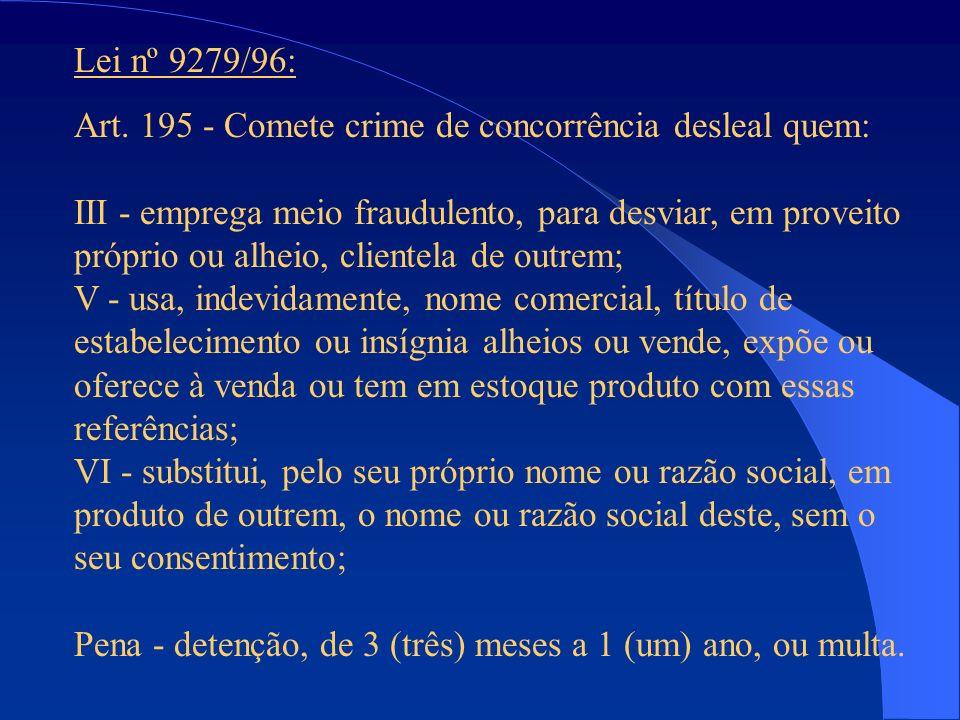 Lei nº 9279/96: Art.