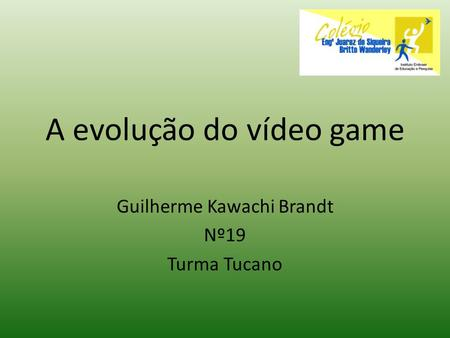 A evolução do vídeo game