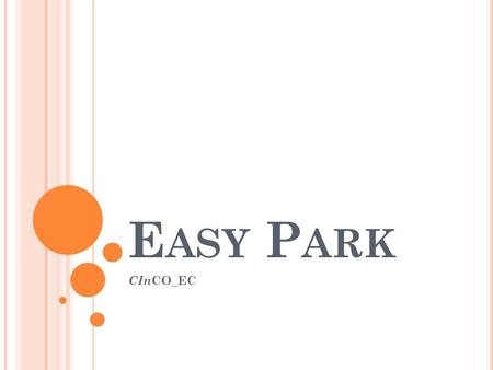 Easy Park CInCO_EC.