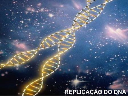 REPLICAÇÃO DO DNA REPLICAÇÃO DO DNA.