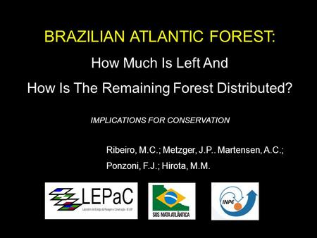 BRAZILIAN ATLANTIC FOREST: