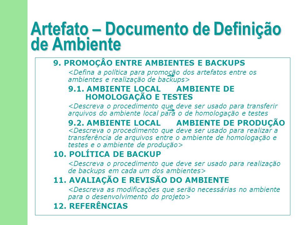 92/113 Artefato – Plano de Gerência de Configuração de Software 1.
