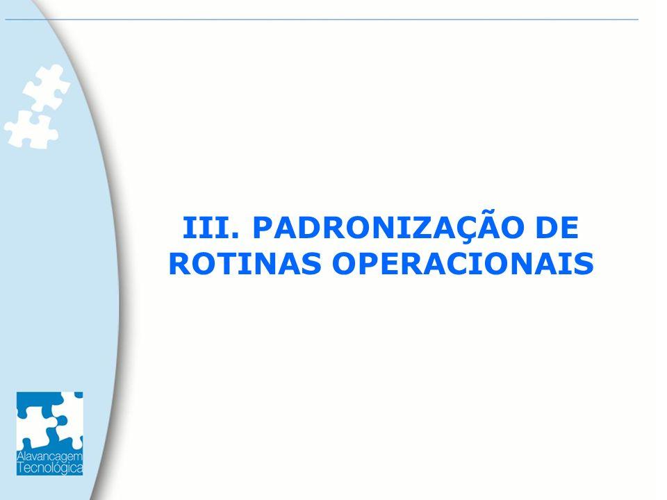 QUALIDADE PRAZO CUSTOS EMPRESA PRODUTOS OU SERVIÇOS PADRONIZAÇÃO DAS ROTINAS OPERACIONAIS MANUTENÇÃO DA COMPETITIVIDADE