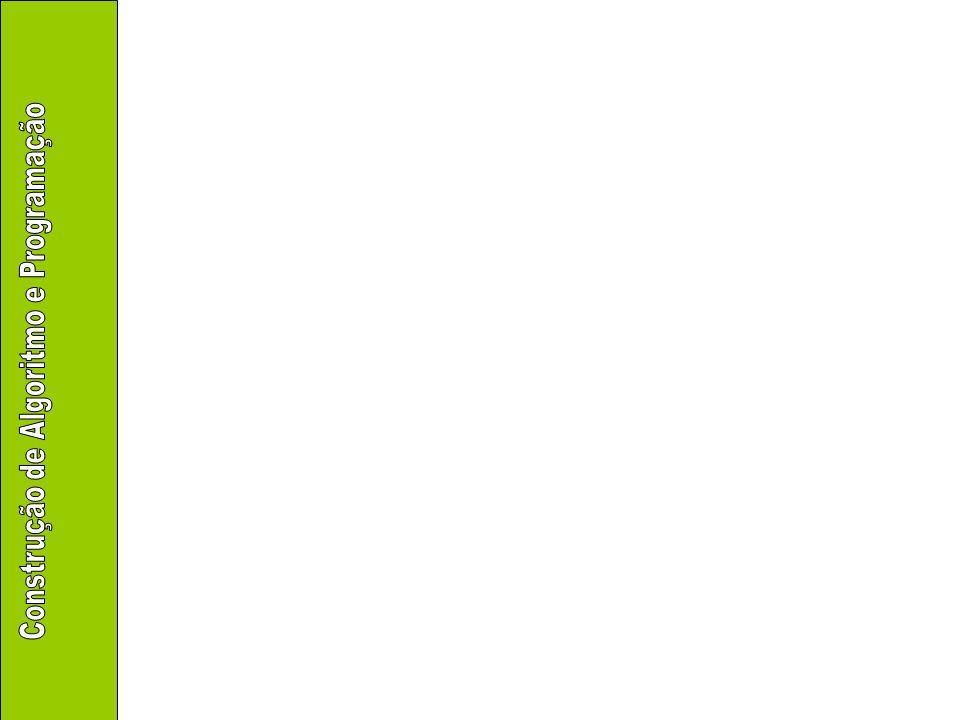 Tipos básicos Memória –A interpretação dos bits depende: Do número de posições de memória que são usadas para representar a informação Da convenção usada para guardar a informação –Exemplo: inteiros de 1 byte com sinal Valores: -128 a 127 O primeiro bit indica se é positivo ou negativo 00000011 3 01111111 127 11111111 -1 10000000 -128
