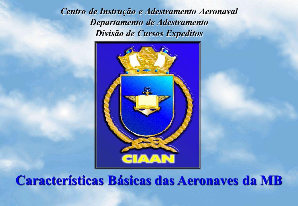 Características Básicas das Aeronaves da MB Centro de Instrução e Adestramento Aeronaval Departamento de Adestramento Divisão de Cursos Expeditos