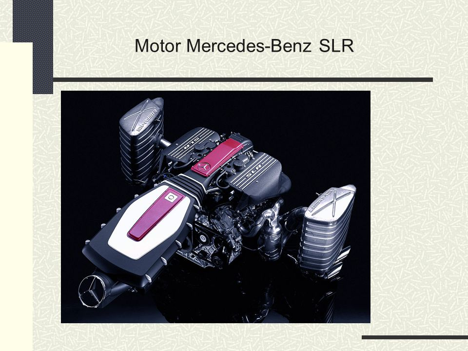 Motor do Mercedes-Benz SLR