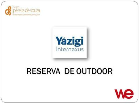 RESERVA DE OUTDOOR.