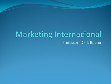 Marketing Internacional