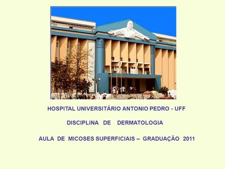 HOSPITAL UNIVERSITÁRIO ANTONIO PEDRO - UFF