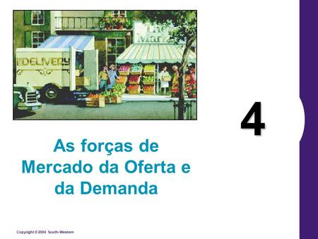 As forças de Mercado da Oferta e da Demanda