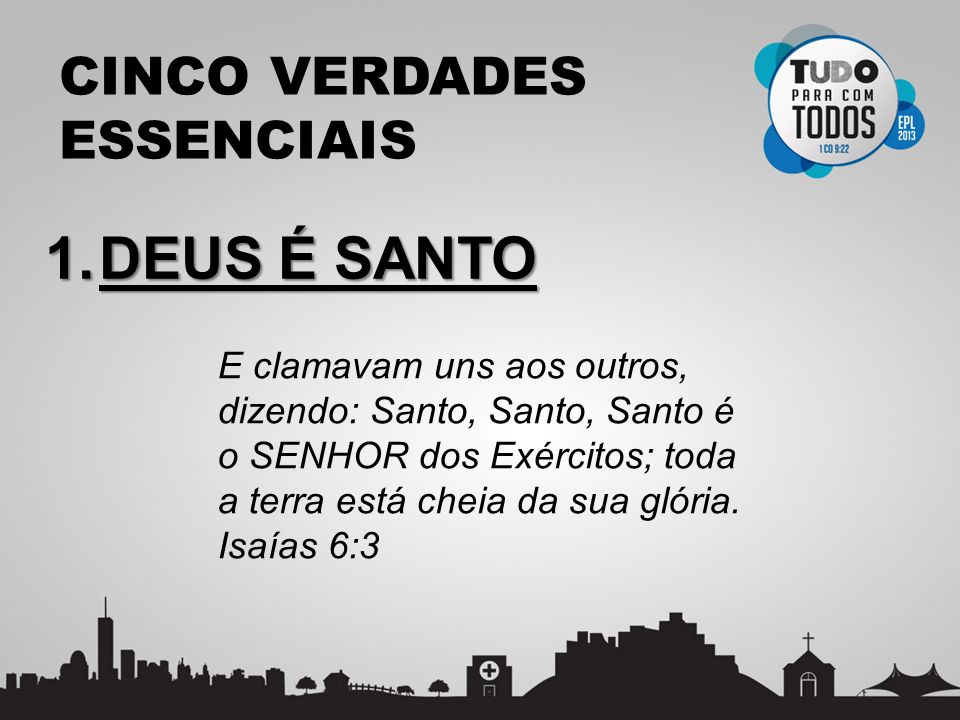 CINCO VERDADES ESSENCIAIS 2.