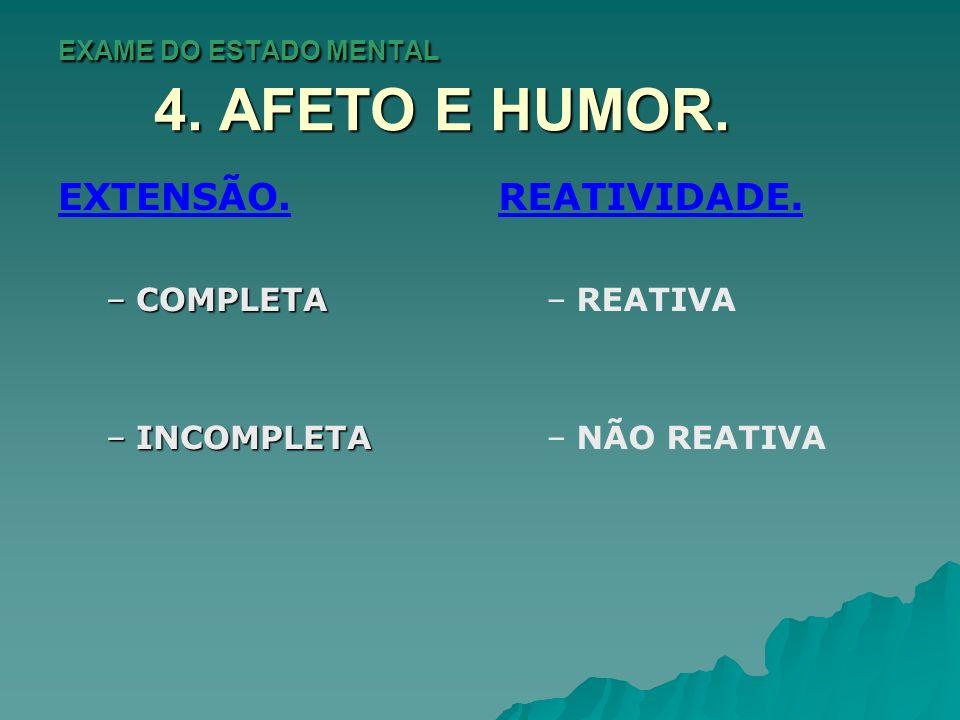 EXAME DO ESTADO MENTAL 5.FALA E LINGUAGEM.