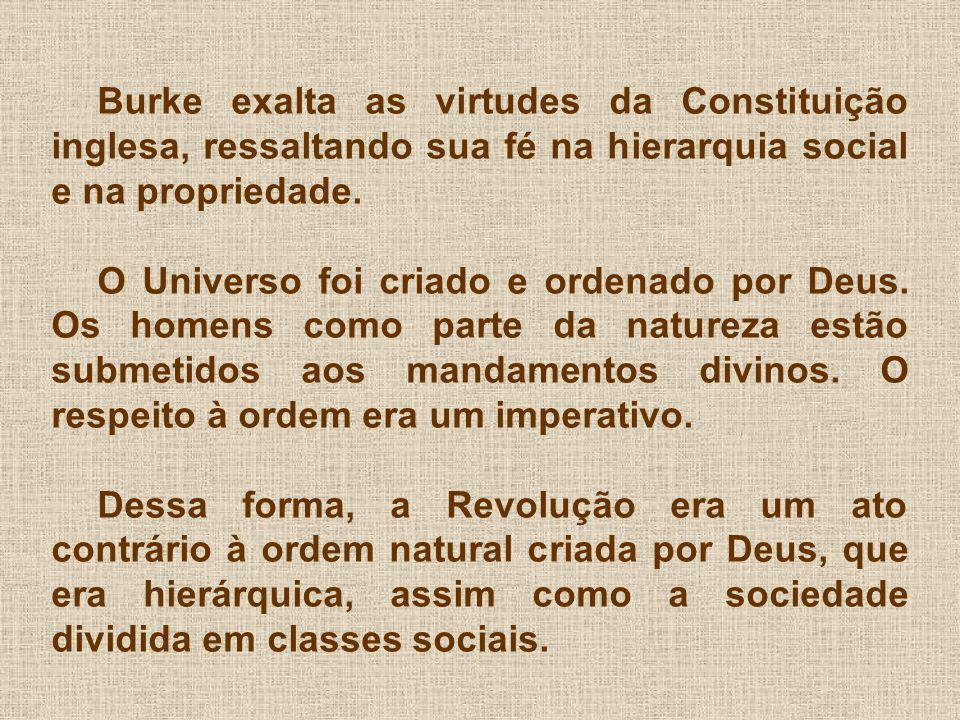 A religião era vista como parte essencial do Estado.