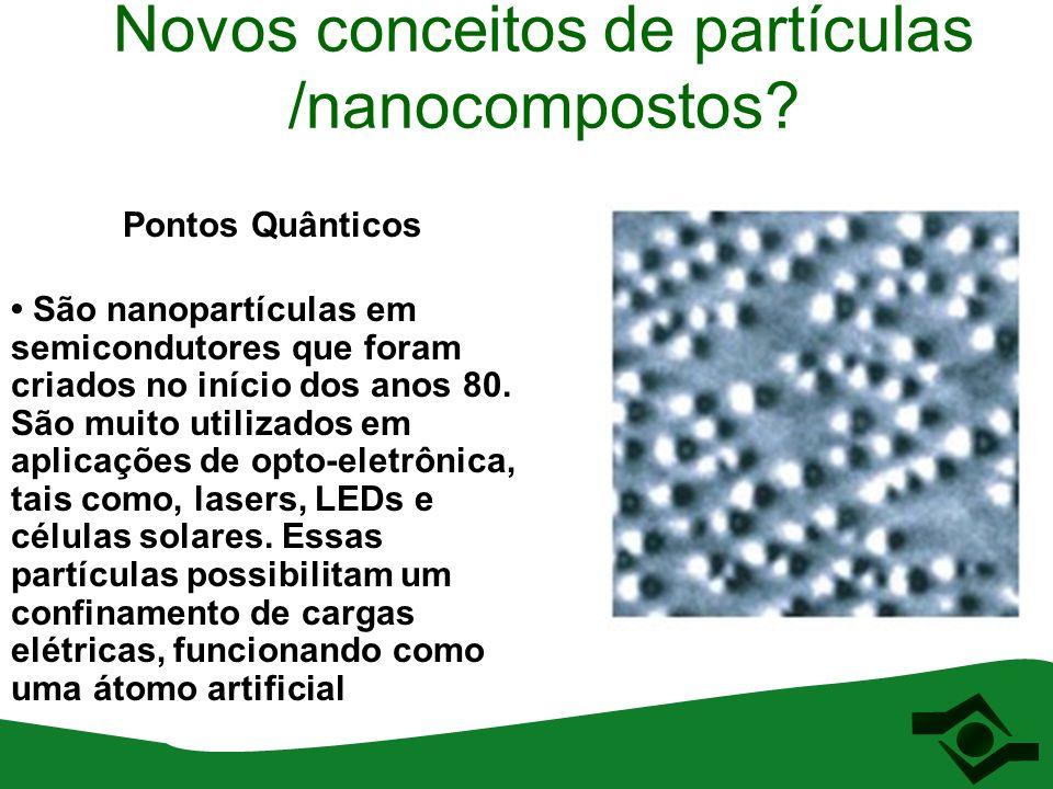 Novos conceitos de partículas /nanocompostos.