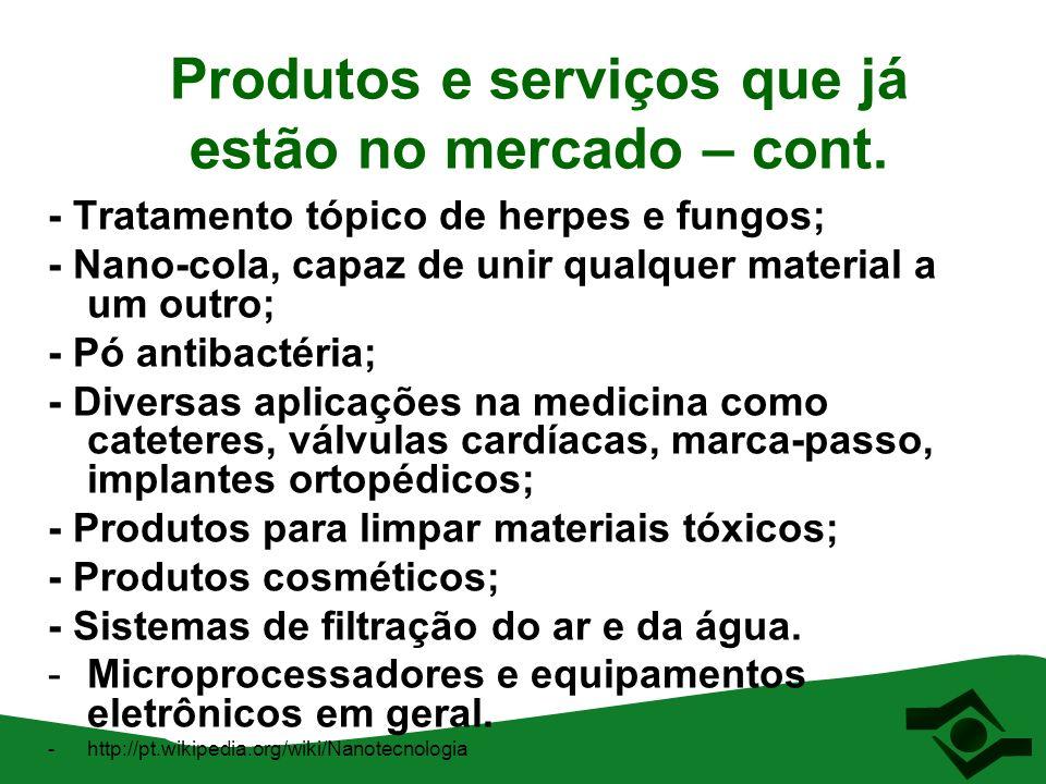 Impactos à saúde e ao meio ambiente Os investimentos em pesquisa de novos materiais em nanotecnologia são cerca de 100 a 1000 vezes maiores (dependendo do país) do que os estudos sobre os impactos à saúde e meio ambiente DÚVIDAS!!!!!!!!!