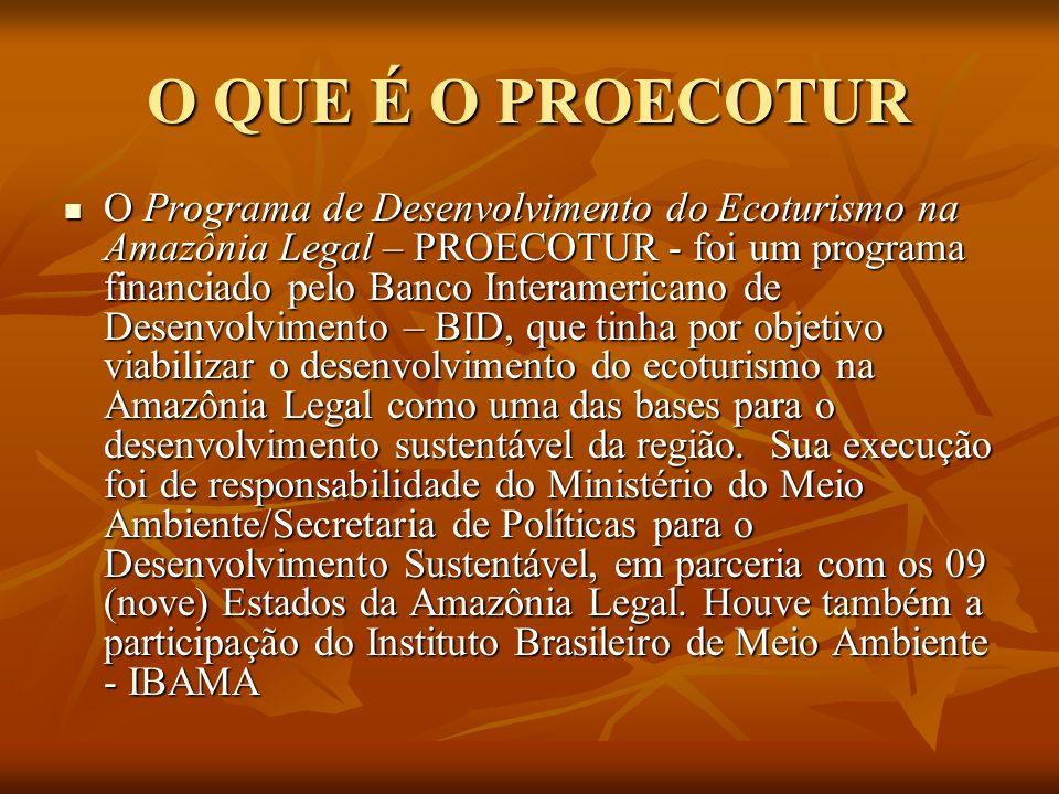 Os recursos financeiros foram assegurados através do contrato BID, correspondente a US$ 13.800.000 (treze milhões e oitocentos mil dólares), sendo US$ 11 milhões oriundos do BID, US$ 2,67 milhões do Tesouro Nacional e US$ 130 mil dos Estados da Amazônia Legal.