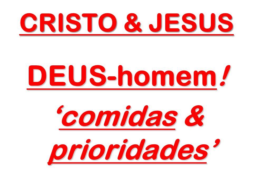 JESUS CRISTO – e Sua essência...