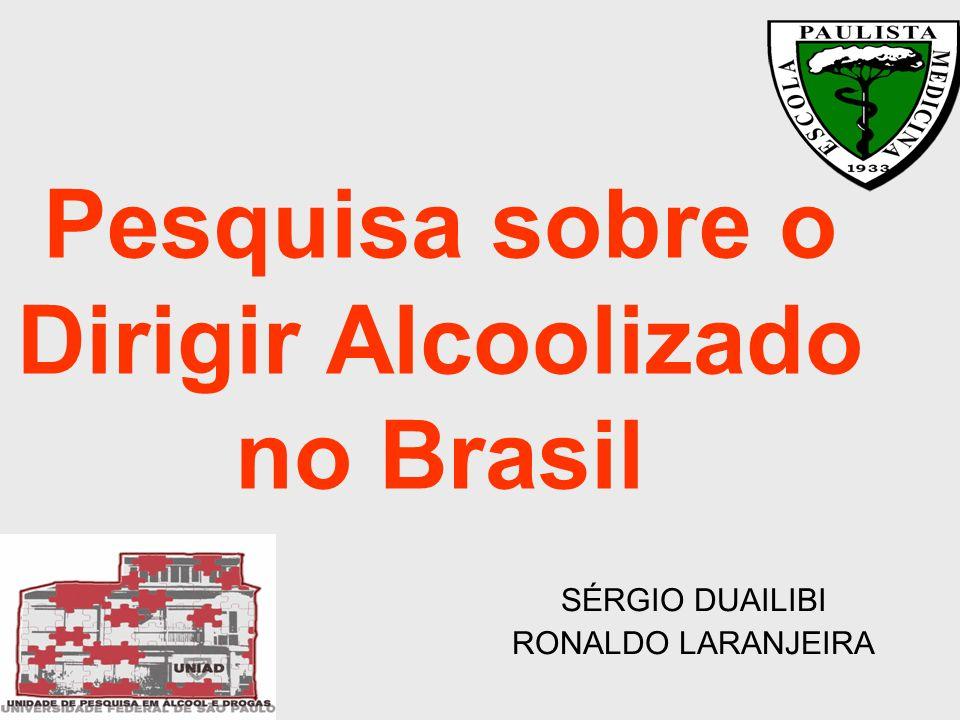 A lei existente O Código Brasileiro de Trânsito, artigo 165, considera como infração gravíssima dirigir alcoolizado com níveis de álcool superiores a seis decigramas por litro de sangue.