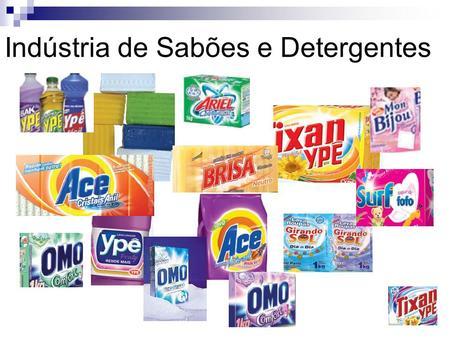 Industria de detergentes