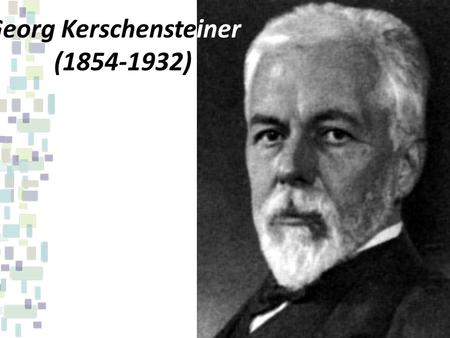 Georg Kerschensteiner