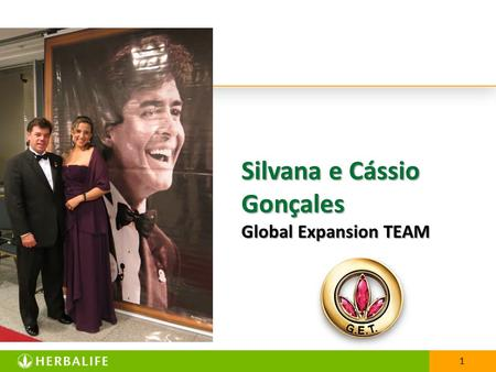 1 Silvana e Cássio Gonçales Global Expansion TEAM.