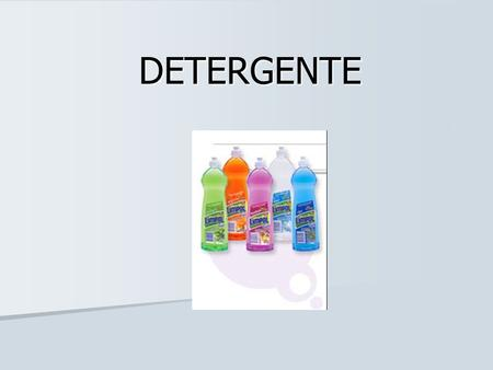 Saboes e detergentes biodegradaveis