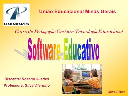Software Educativo União Educacional Minas Gerais