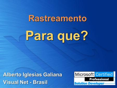 Alberto Iglesias Galiana Visual Net - Brasil